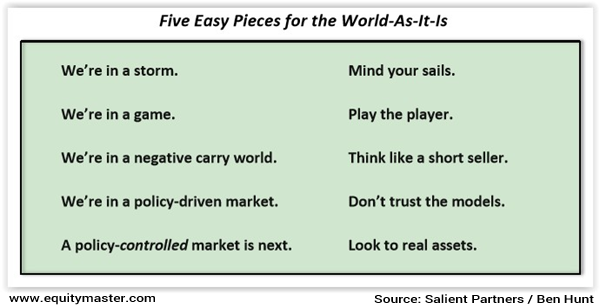 Five Easy Pieces for the World As It Is